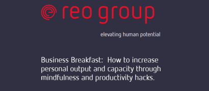 Reo Group - Mindfulness Business Breakfast