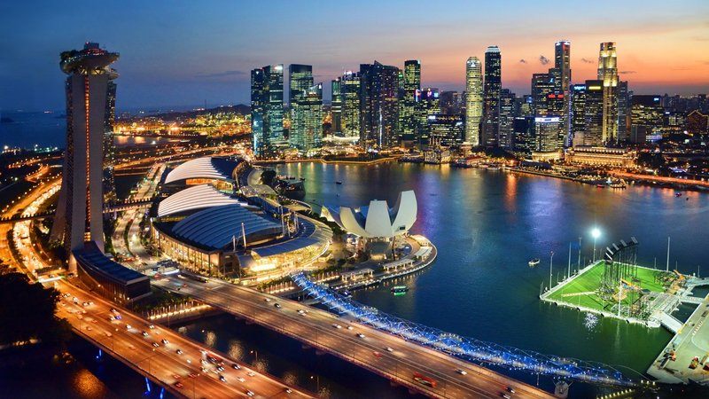 Singapore Harbour View Image