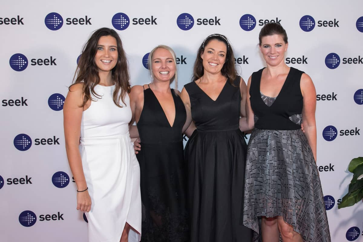 Team iknowho at the SEEK SARA Awards