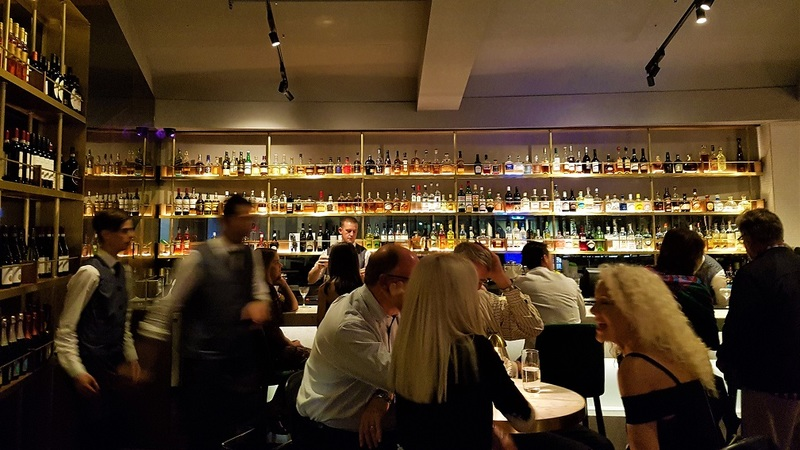 The bar at Neil Perry's Rosetta Sydney restaurant.