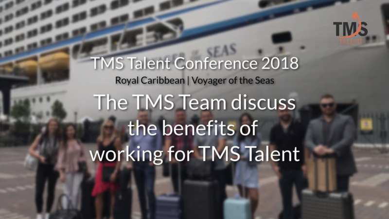 Video of TMS Talent on their annual conference on board voyager of the seas cruise