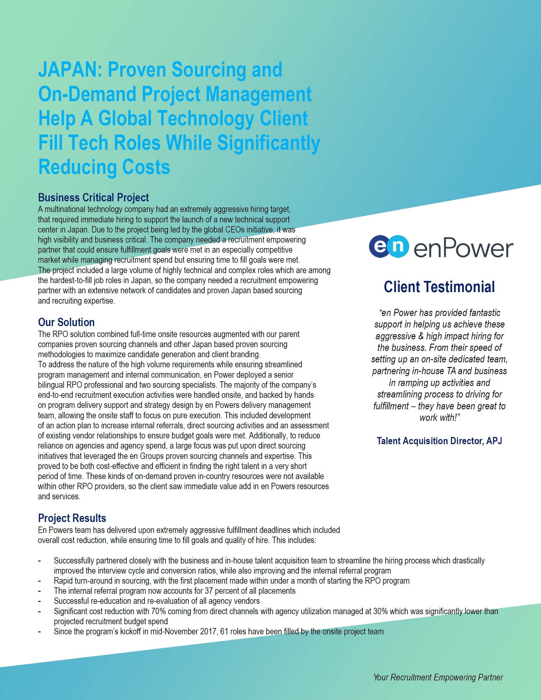 enPower Case Study