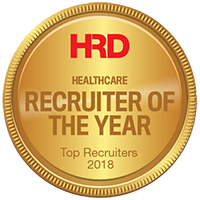 HRD Healthcare Recruiter of the year 2018 Gold