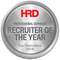 HRD Professional Services Recruiter of the year 2018 Silver