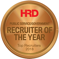 Public Service Government Recruiter of the year 2018