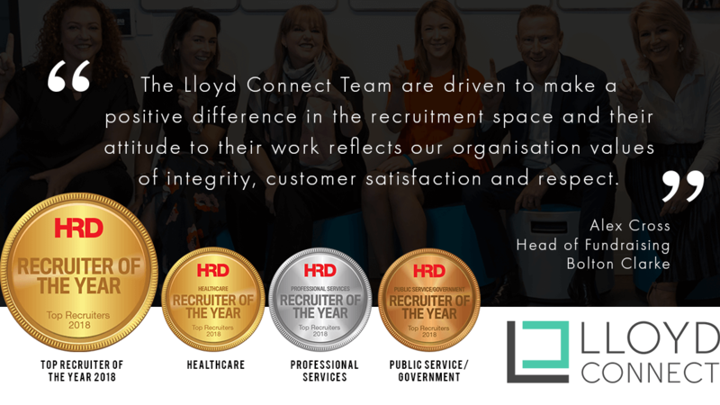 HRD Magazine Recruiter of the year 2018