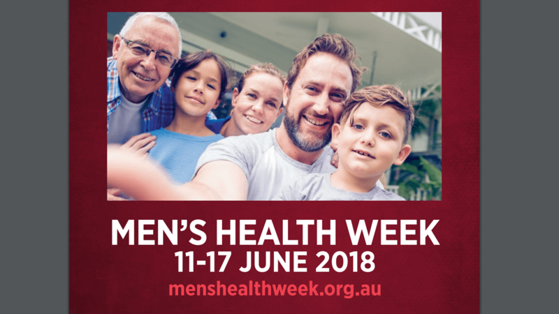 mens health week 2018