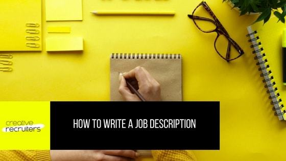 Write Job Description Vanessa Dolan