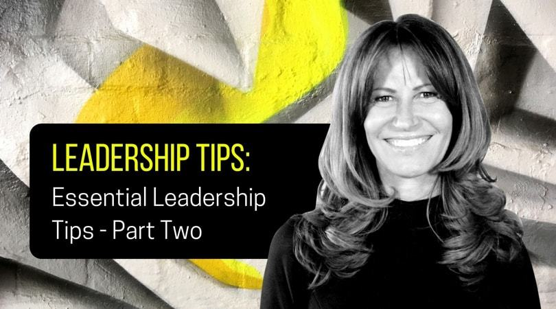 Vicki-Anne Craigen Leadership Tips