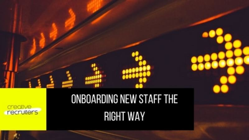Onboarding New Staff
