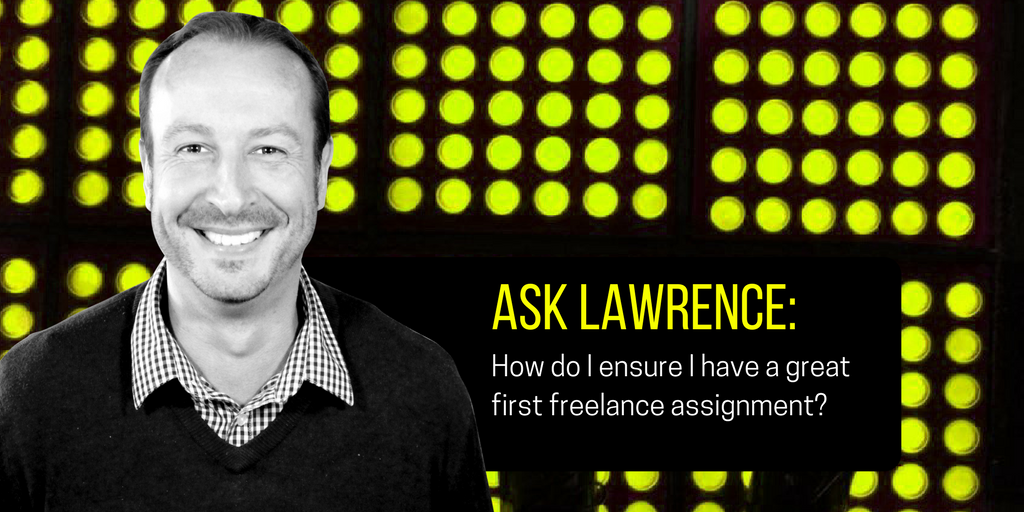 Lawrence Akers First Freelance Assignment