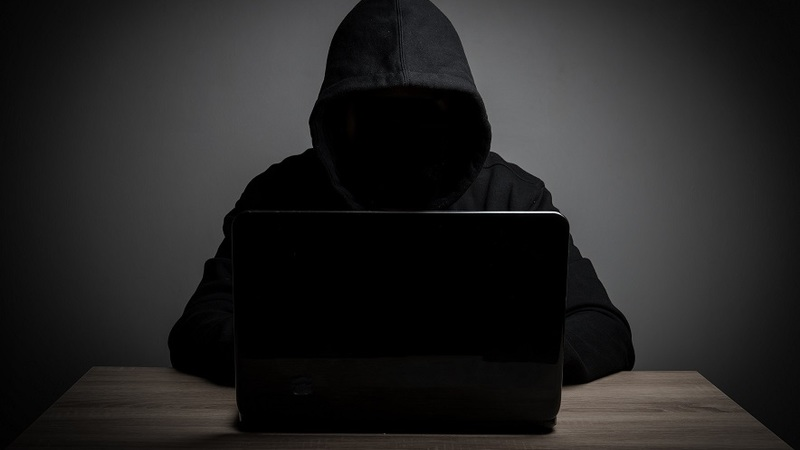 Image of a hacker