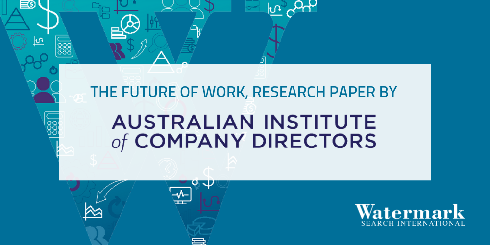 The future of work AICD
