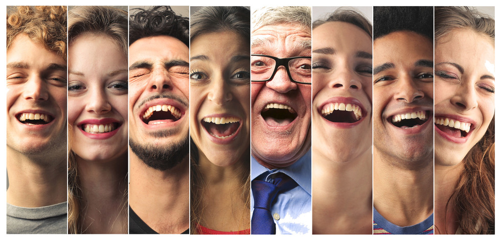 Alt = group of diverse candidates laughing