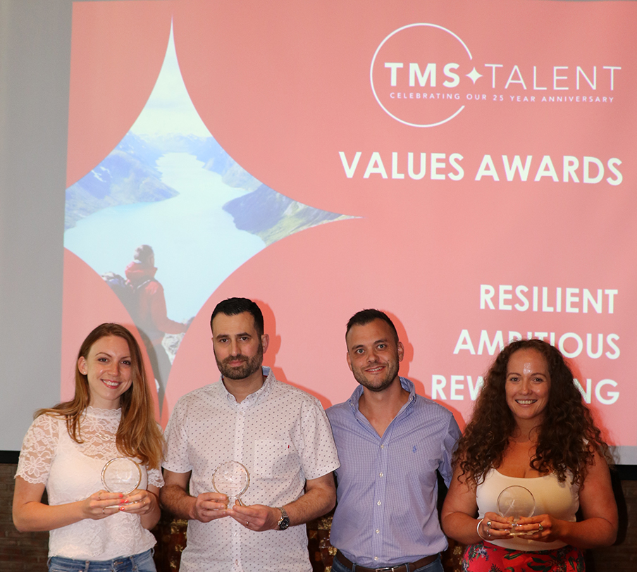 TMS Talent Values Awards Winners 2019