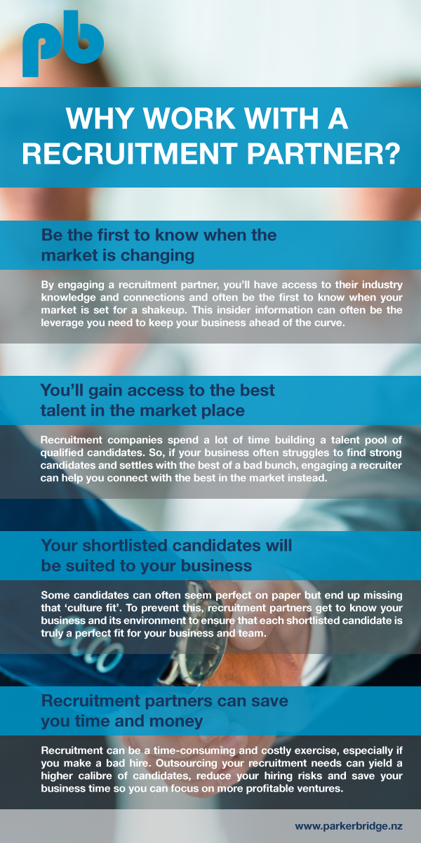 Why should you work with a recruitment agency