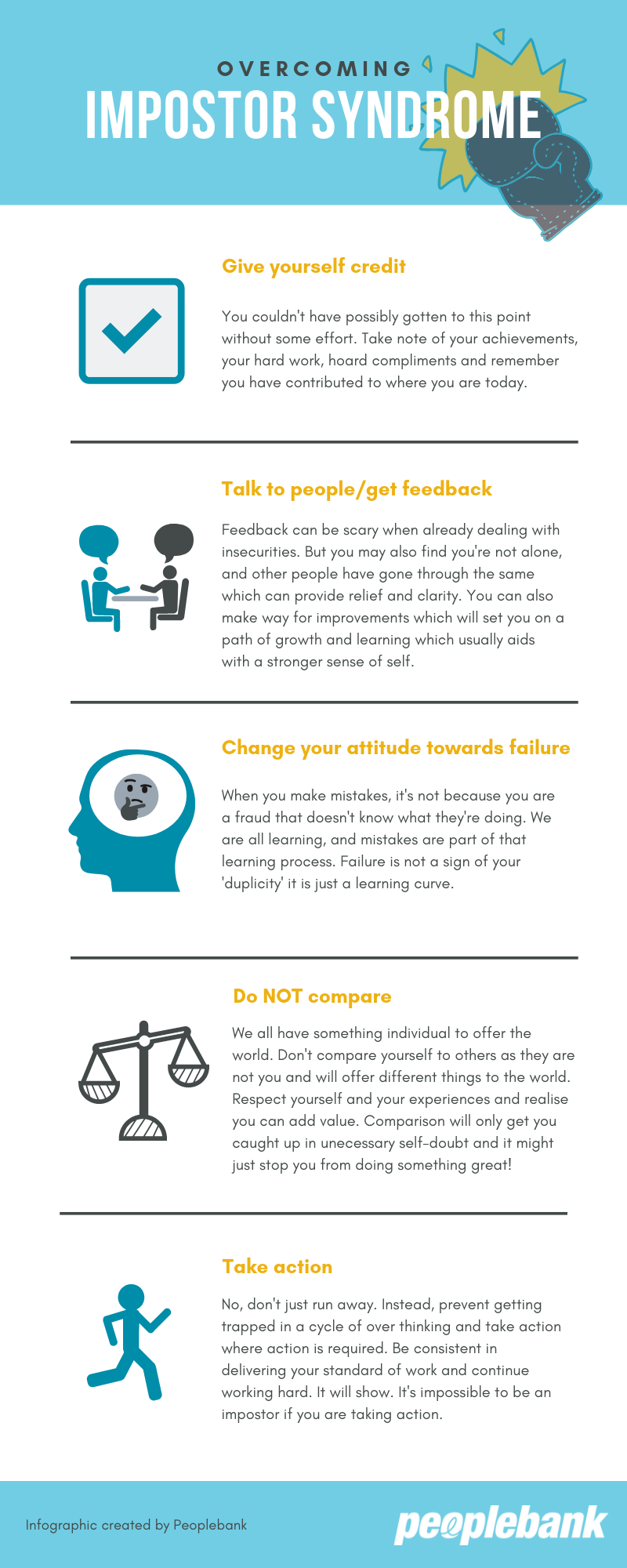 Overcoming Impostor Syndrome Infographic