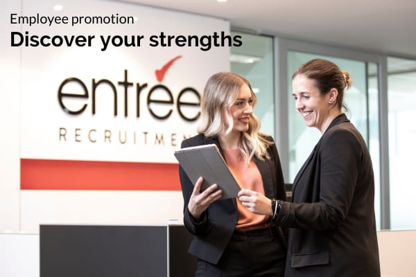 Entree Recruitment Careers - Career Progression - Employee Promotion