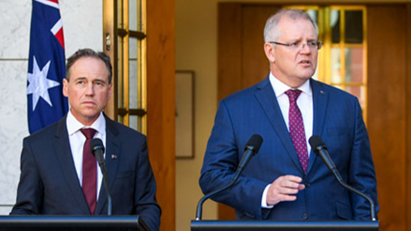 Prime Minister Scott Morrison Federal Health Minister Greg Hunt announced the package this morning.